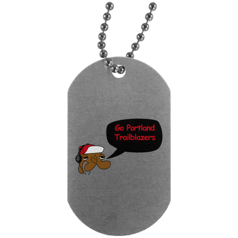 JimmyRay Portland Trailblazers Dog Tag