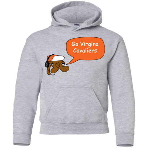 Jimmyraynemkids Virginia Cavilers Youth Pullover Hoodie