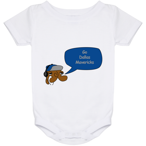 Jimmyraynemkids Dallas Mavericks Baby Onesie 24 Month
