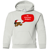 Jimmyraynemkids Wisconsin Badgers Youth Pullover Hoodie