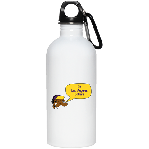 JimmyRay Los Angeles Lakers 20 oz. Stainless Steel Water Bottle