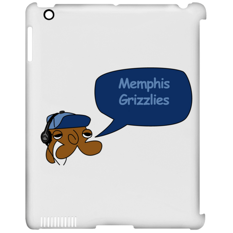 JimmyRay Memphis Grizzles iPad Clip Case