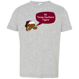 Jimmyraynemkids Texas Southern Tigers Toddler Jersey T-Shirt