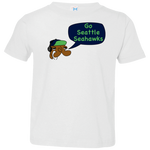 Jimmyraynemkids Seattle Seahawks Toddler Jersey T-Shirt
