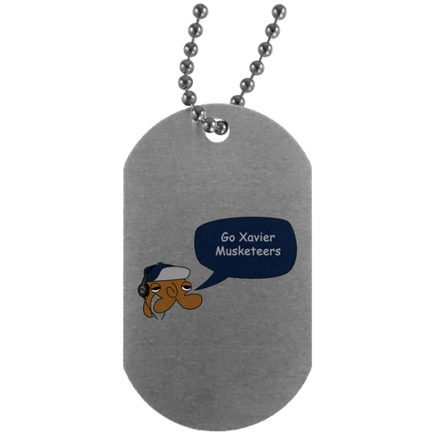 JimmyRay Xaiver Musketeers Dog Tag