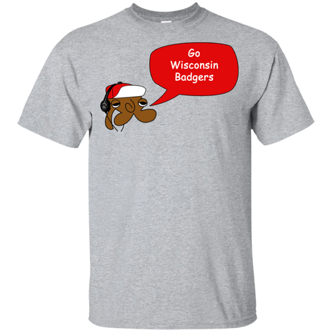Jimmyraynemkids Wisconsin Badgers Youth Ultra Cotton T-Shirt