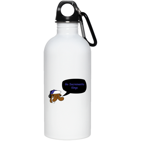 JimmyRay Sacramento Kings 20 oz. Stainless Steel Water Bottle