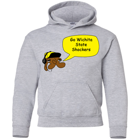Jimmyraynemkids Wichita State Shockers Youth Pullover Hoodie