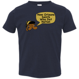 Jimmyraynemkids New Orleans Saints Toddler Jersey T-Shirt