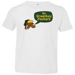 Jimmyraynemkids Greenbay Packers Toddler Jersey T-Shirt