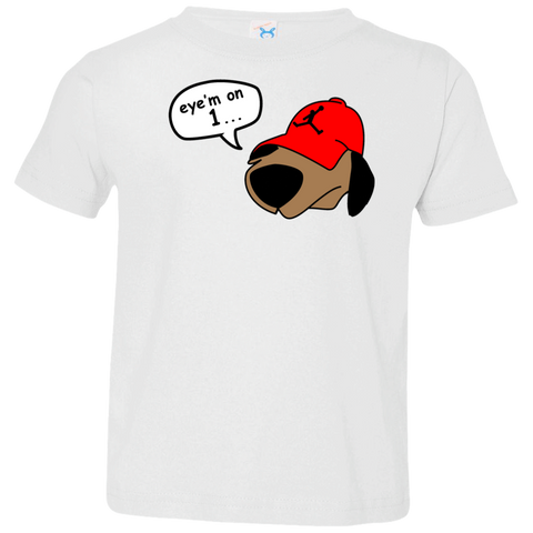 JimmyRay Eye'm On 1 Baby Tee