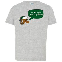 JimmyRay Michigan State Spartans Baby Tee