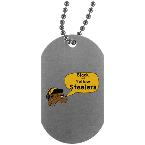 JimmyRay Pittsburgh Steelers Dog Tag