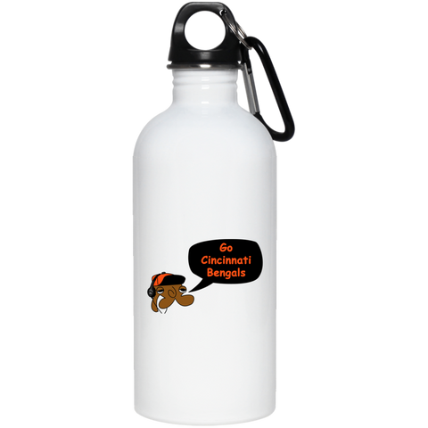 JimmyRay Cincinnati Bengals 20 oz. Stainless Steel Water Bottle