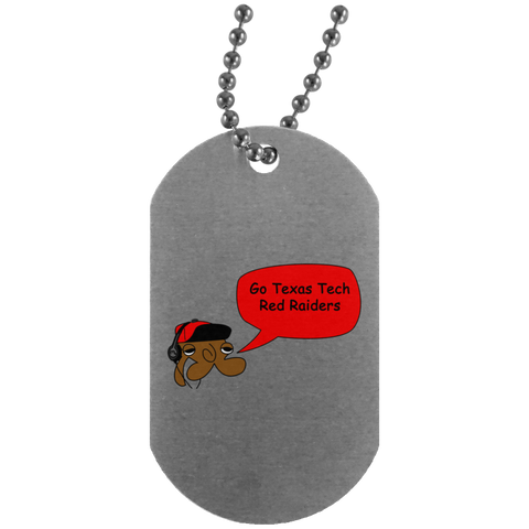 JimmyRay Texas Tech Red Raiders Dog Tag
