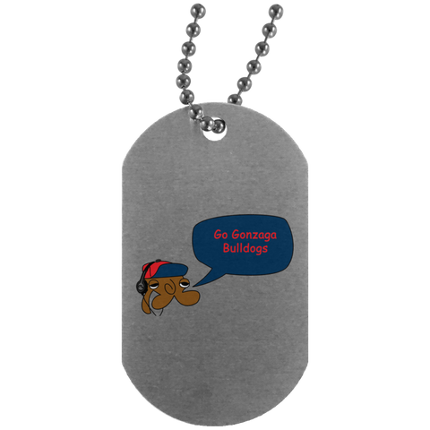 JimmyRay Gonzaga Bulldogs Dog Tag
