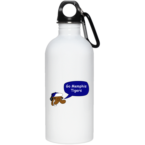JimmyRay Memphis Tigers 20 oz. Stainless Steel Water Bottle