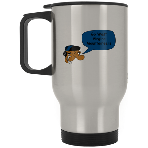 JimmyRay West Virgina Mountaineers Travel Mug