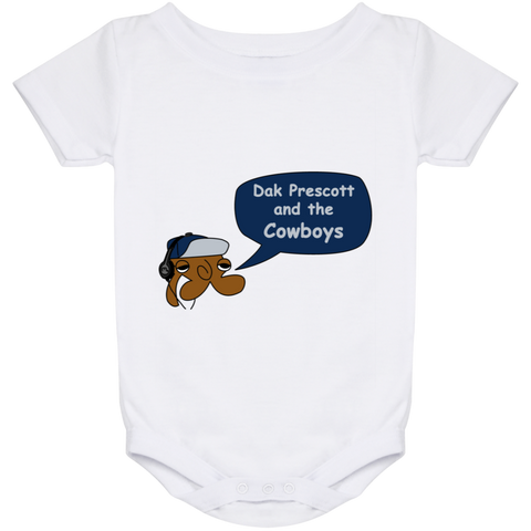 Jimmyraynemkids Dak Prescott and the Dallas Cowboys Baby Onesie 24 Month