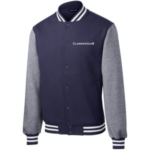Clarksvegas Fleece Letterman Jacket