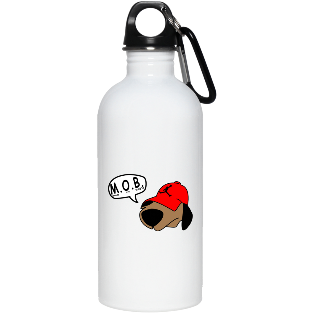 JimmyRay M.O.B Red 20 oz. Stainless Steel Water Bottle