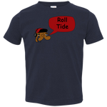 Jimmyraynemkids Roll Tide Toddler Jersey T-Shirt