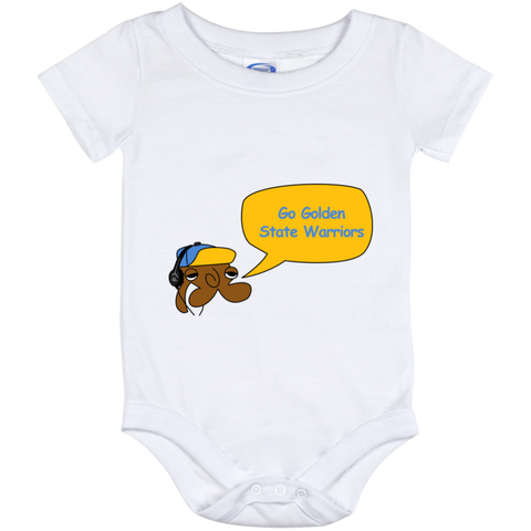 Jimmyraynemkids Golden State Warriors Baby Onesie 12 Month