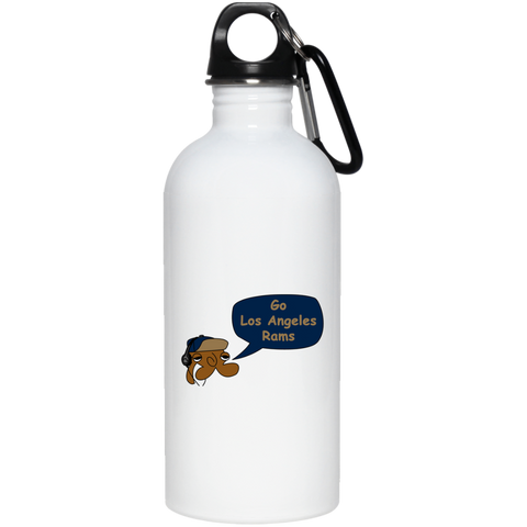 JimmyRay Los Angeles Rams 20 oz. Stainless Steel Water Bottle
