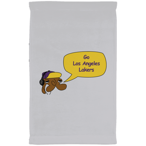 JimmyRay Los Angeles Lakers Towel