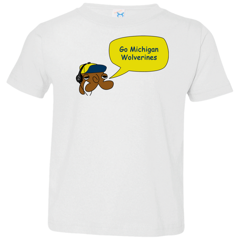 Jimmyraynemkids Michigan Wolverines Baby Tee