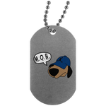 JimmyRay M.O.B Blue Dog Tag
