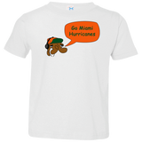 Jimmyraynemkids Miami Hurricanes Toddler Jersey T-Shirt