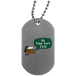 JimmyRay New York Jets Dog Tag