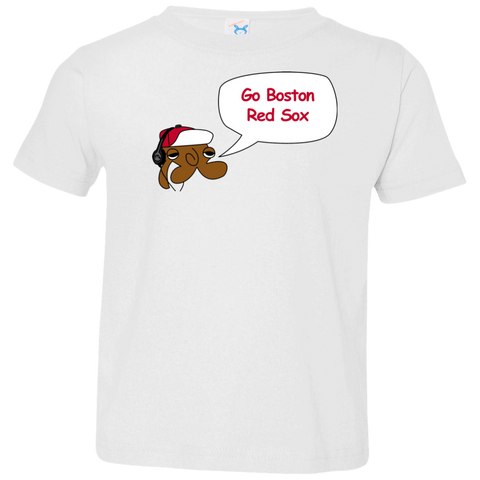 Jimmyraynemkids Boston Red Sox Toddler Jersey T-Shirt