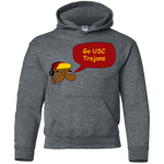 Jimmyraynemkids USC Trojans Youth Pullover Hoodie