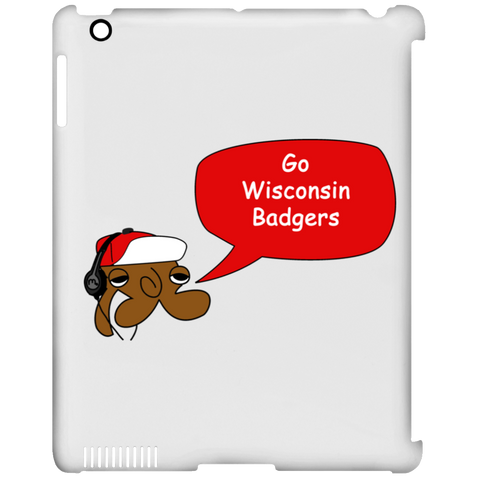 JimmyRay Wisconsin Badgers iPad Clip Case