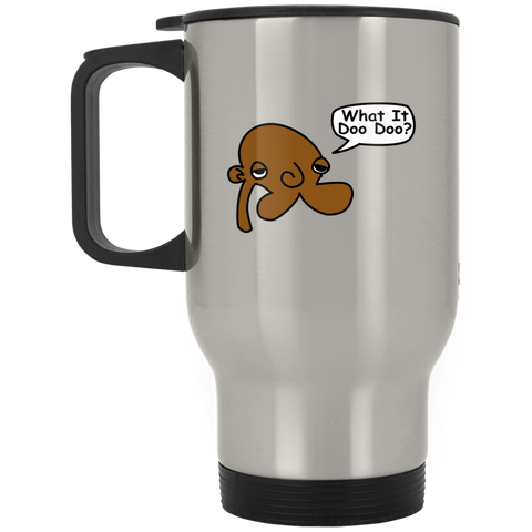 JimmyRay What It Doo Doo Travel Mug