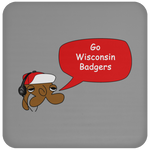 JimmyRay Wisconsin Badgers Coaster