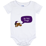 TCU Frogs Baby Onesie 12 Month