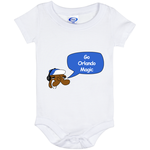 Jimmyraynemkids Orlando Magic Baby Onesie 6 Month