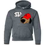 JimmyRay M.O.B Red Youth Pullover Hoodie