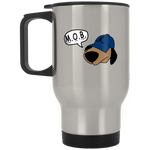 JimmyRay M.O.B Blue Travel Mug