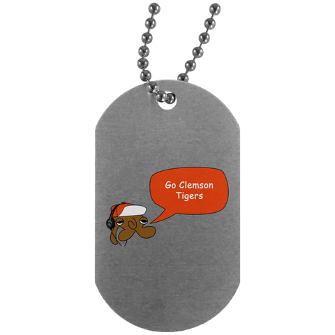 JimmyRay Clemson Tigers Dog Tag