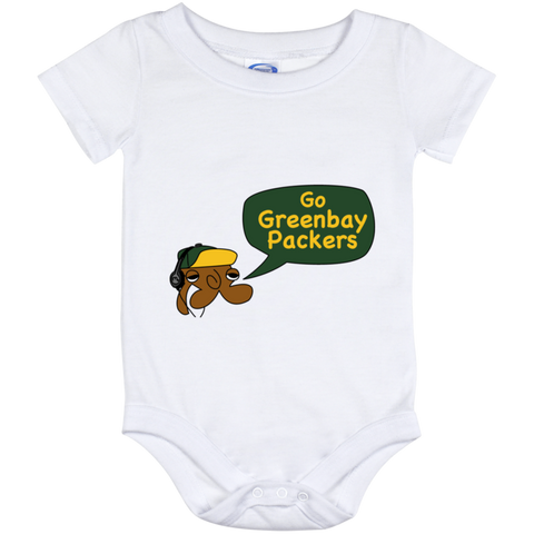 Jimmyraynemkids Green Bay Packers Baby Onesie 12 Month