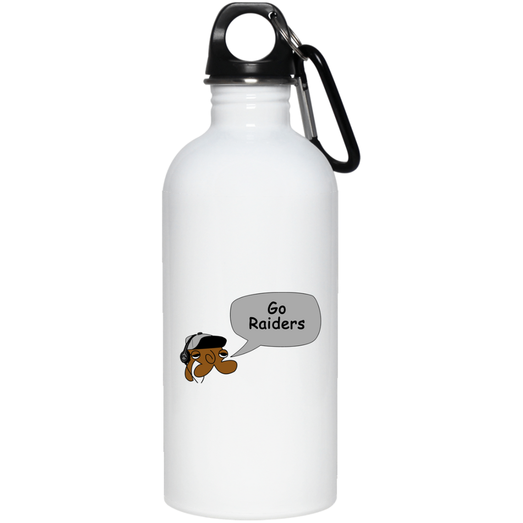 JimmyRay Oakland Raiders 20 oz. Stainless Steel Water Bottle