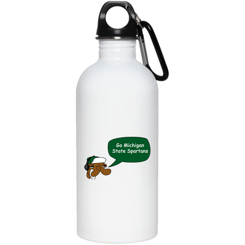 JimmyRay Michigan State Spartans 20 oz. Stainless Steel Water Bottle