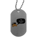 JimmyRay Brooklyn Nets Dog Tag
