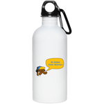 JimmyRay Golden State Warriors 20 oz. Stainless Steel Water Bottle