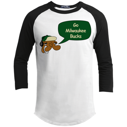 JimmyRay Milwaukee Bucks Baseball Tee