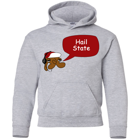 Jimmyraynemkids Mississippi State Youth Pullover Hoodie